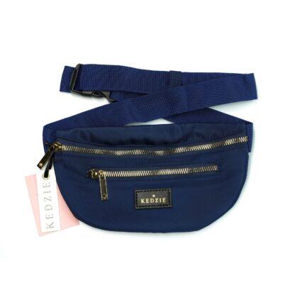 navy fanny pack
