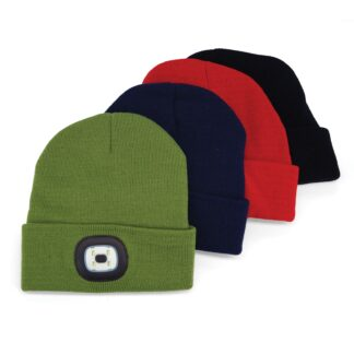 all color LED beanie